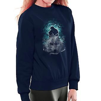 Ghosts Game Of Thrones Jon Snow Direwolf Women's Sweatshirt