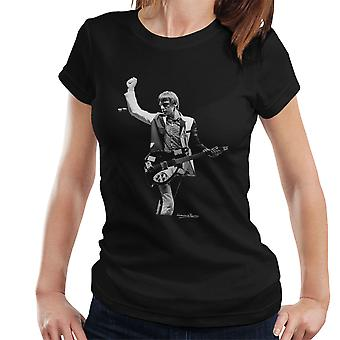 The Jam Paul Weller Manchester Apollo Women's T-Shirt