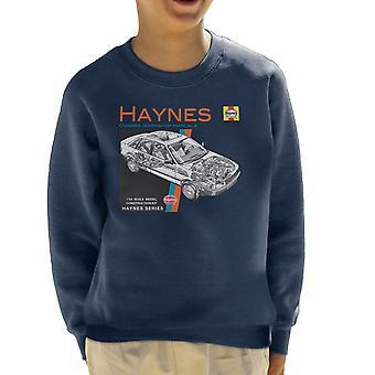 Haynes propietarios 1491 reparacion de Manual de taller Audi 80 sudadera 90 niños