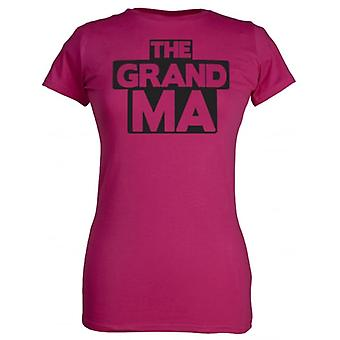 Spoilt Rotten The Grandma Women's T-Shirt Purple (12-14)