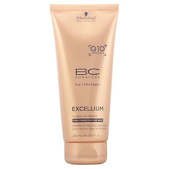 Schwarzkopf Professional Bc Excellium Taming Shampoo 200Ml (Woman , Hair Care , Shampoos)
