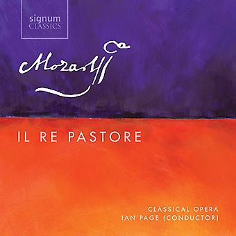 Mozart / Ainsley / orquesta de la ópera clásica - Il Re Pastore K. 208 [CD] USA import