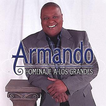 Armando Luna - Homenaje una importación de Estados Unidos Los Grandes [CD]