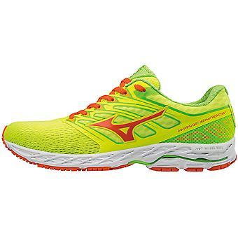 Mizuno men's running shoe lightweight wave shadow yellow - J1GC173054