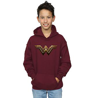 DC Comics pojkar Justice League filmen Wonder Woman Emblem Hoodie