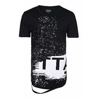 Things to appreciate distressed shirt men's T-Shirt black cut-outs at the hem