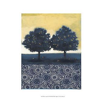 Blauw Lemon Tree II Poster Print by Norman Wyatt (13 x 19)