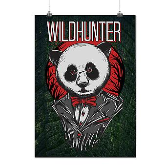 Matte or Glossy Poster with Wildhunter Animal Fashion | Wellcoda | *d2660