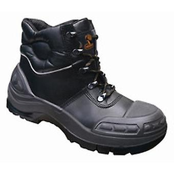 V12 VR657 Endura Ii Black Tough Comfort Boot EN20345:2011-S3 Size 6
