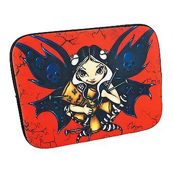 Red/Black `Fairy Voodoo` Strangeling Fairy Tablet Sleeve