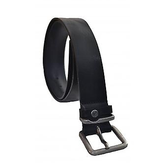 Ted Baker Ted Baker Mens Black Katchup Leather Belt