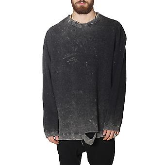 Nostrasantissima men's FF1908888 black cotton Sweatshirt
