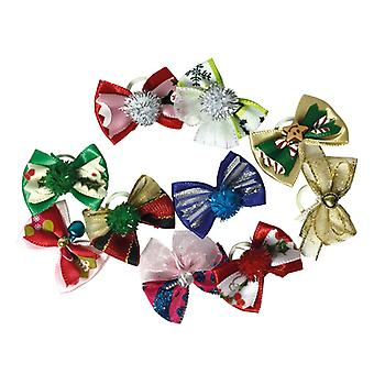 Groom Professional Luxury Christmas Bows Pack Of 100