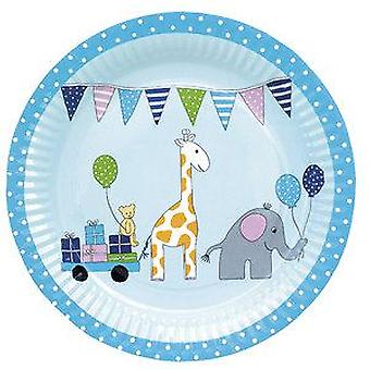 Jabadabado Blue Birthday Plate (Babies and Children , Costumes)