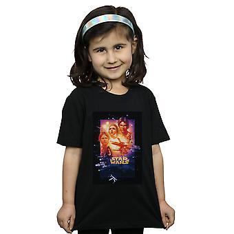 Star Wars T-Shirt für Mädchen Episode V Film Poster