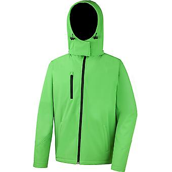 Result Core Mens Performance Hooded Softshell Jacket