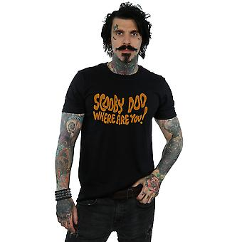 Scooby Doo Men's Where Are You Spooky T-Shirt