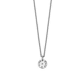 ESPRIT women's chain necklace silver of diamonds 4ever ESNL92255A400