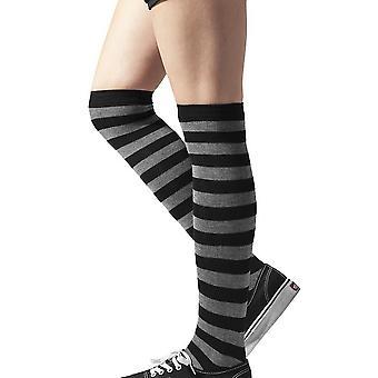 Urban classics ladies of striped socks