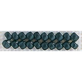 Mill Hill Antique Glass Seed Beads 2.5mm 2.63g-Charcoal