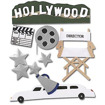 Jolee's Boutique Dimensional Stickers-Hollywood
