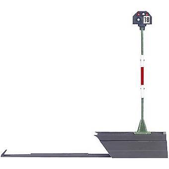Märklin 76472 H0 ljus hög stoppsignal monterad DB