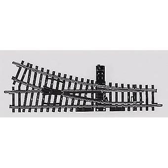 H0 Märklin K (w/o track bed) 2266 Points, Right 168.9 mm 22.5 °