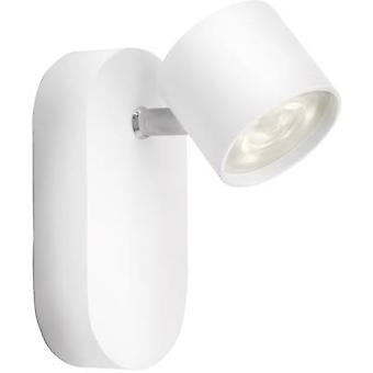 LED wall spotlight 4 W EEC: LED (A++ - E) Warm white Philips Lighting 56240/31/16 White