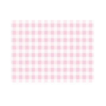 3 Sheets Pink Gingham Decopatch Paper for Crafts | Decoupage Crafts