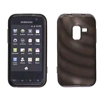 Ventev krusninger Dura-Gel tilfældet for Samsung SPH-D600 (røg)