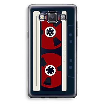Samsung Galaxy A3 (2015) Transparent Case (Soft) - Here's your tape