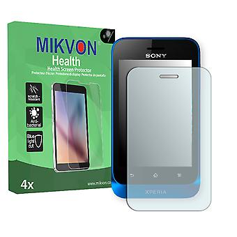 Sony Xperia ST21a Screen Protector - Mikvon Health (Retail Package with accessories)