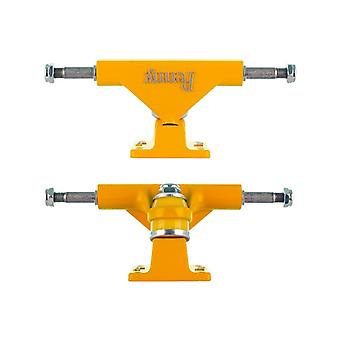 Penny Yellow Solid Series - 4 Inch Pair of Cruiser Trucks