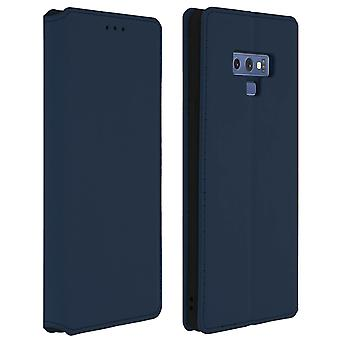Slim Classic Edition stand case with card slot for Galaxy Note 9 - Dark blue