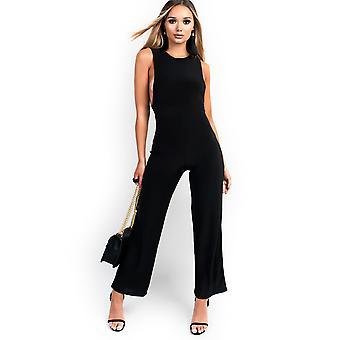IKRUSH Womens Izabella Slinky ärmlös Scoop Jumpsuit