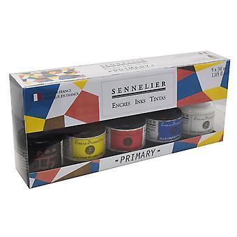 Sennelier Artist Ink Primary Colours Set 5 x 30ml