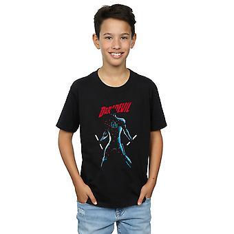 Marvel gutter Daredevil på målet t-skjorte