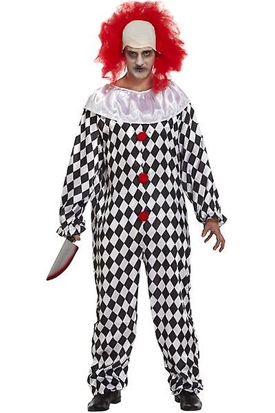 Henbrandt Scary Clown With Wig