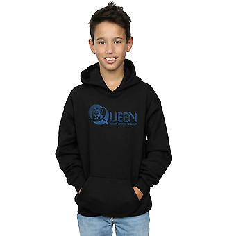 Queen Boys Distressed News Of The World Hoodie