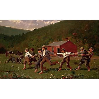 Enclenchez le fouet, Winslow Homer, 40x60cm avec plateau