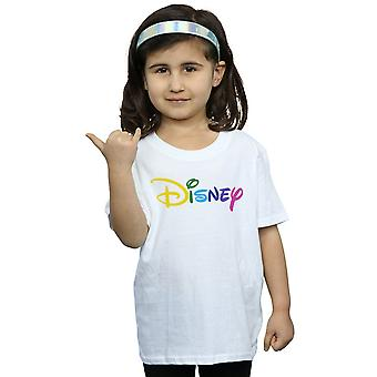 Disney Girls Colour Logo T-Shirt