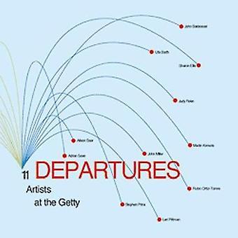 Départs - 11 artistes à la Getty par Lisa Lyons - livre 9780892365821