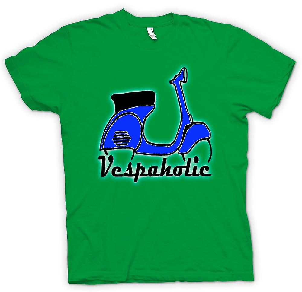 Grappige mens T-shirt - Vespa Vespaholic - Scooter