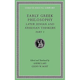 Początku filozofii greckiej - Tom VII - później Jońskie i ateńskiej Thinke