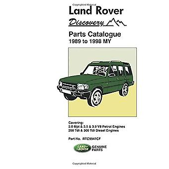 Land Rover Discovery Parts Catalogue 1989-1998 MY (Parts Catalogues)