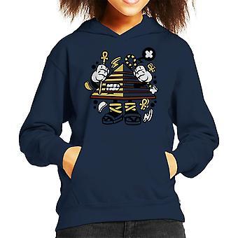 Pyramid Guy Kid's Hooded Sweatshirt