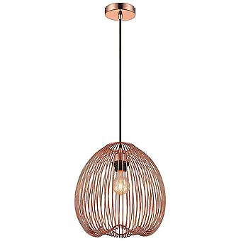 Spring Lighting - Leeds Copper Pendant  EPMM030DQ1QFOE