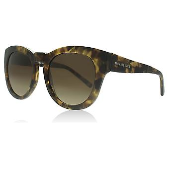 Michael Kors MK2037 321013 Brown Medley Summer Breeze Round Sunglasses Lens Category 3 Size 50mm