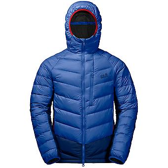 Jack Wolfskin Mens Neon Warm Insulated Windproof Down Jacket