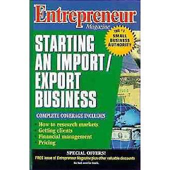 Entrepreneur Magazine Starting an ImportExport Business by Entrepreneur Magazine
